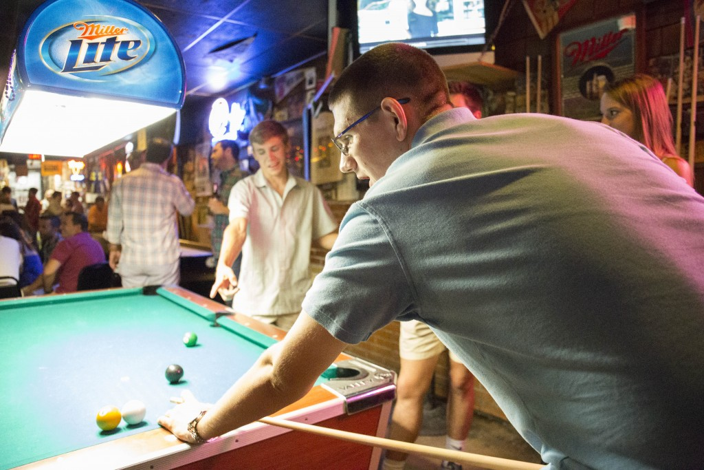 Time Out Tavern Dallas - Pool Table